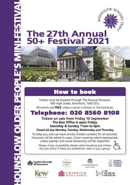 27th Hounslow Older People's Festival